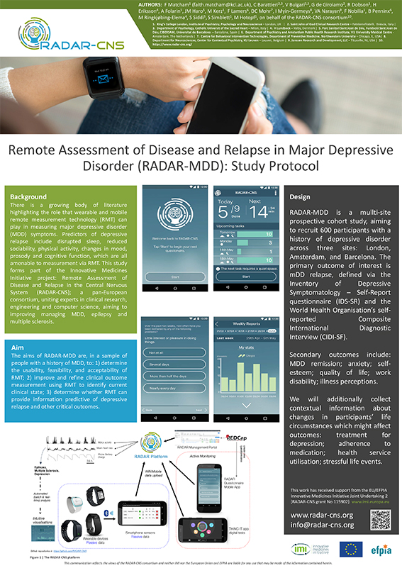 radar cns at the mq mental health science meeting radar cns